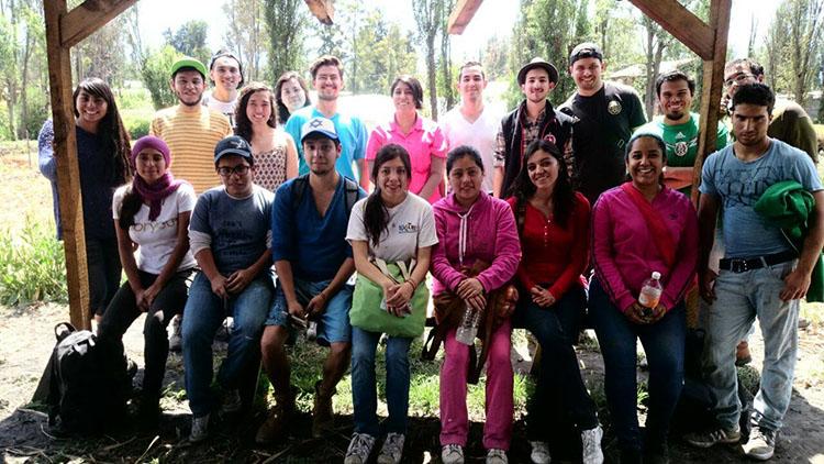 El equipo Lum k'inal en un día de actividades 750