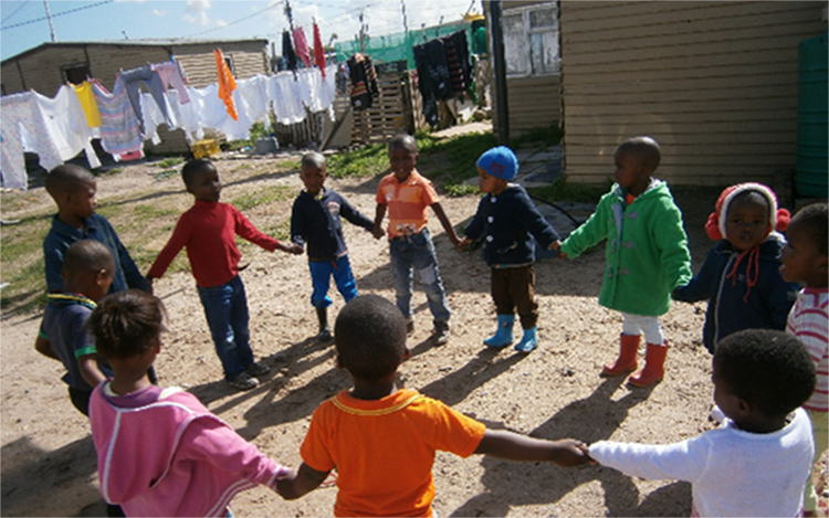 Early childhood development project in South Africa