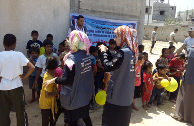 Reconstruction d'urgence à Gaza par l'association Medina