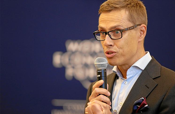 Finland Finance Minister Alexander Stubbs
