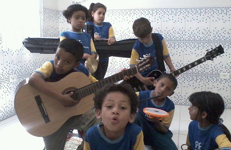 Aulas de instrumentos individuais