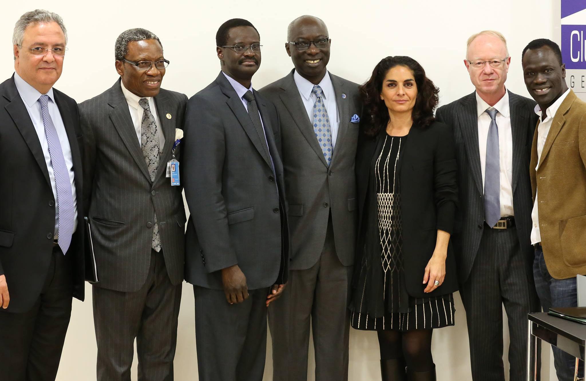 Les participants de la conférence sur les génocides et la violence de masse Photo: Nicole Matchoss