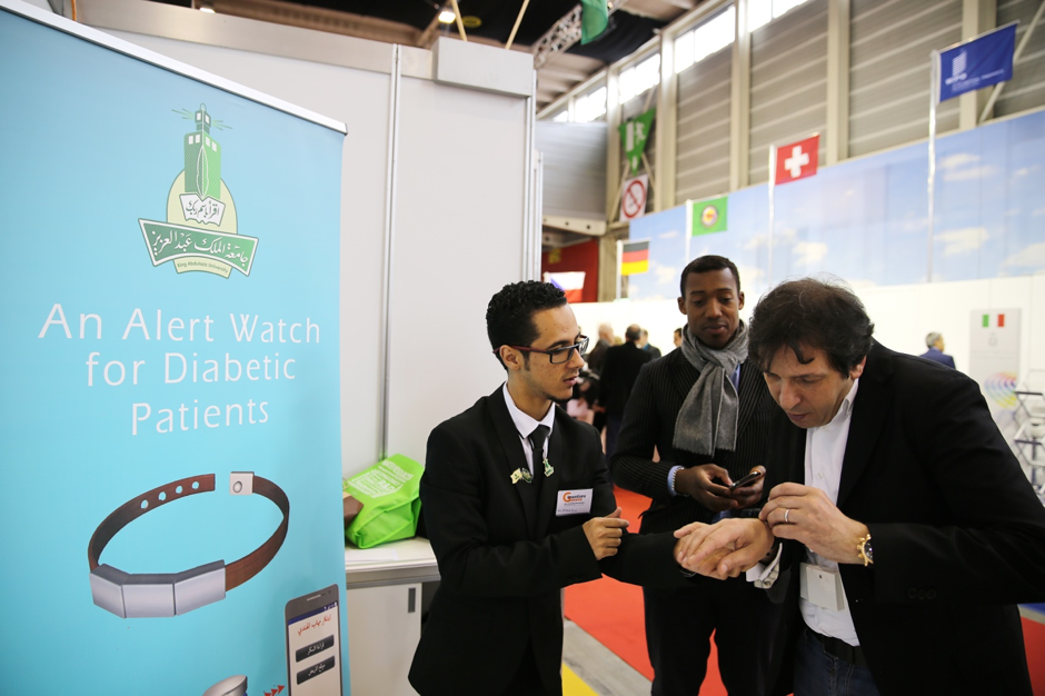 Watch Created for diabetic patients