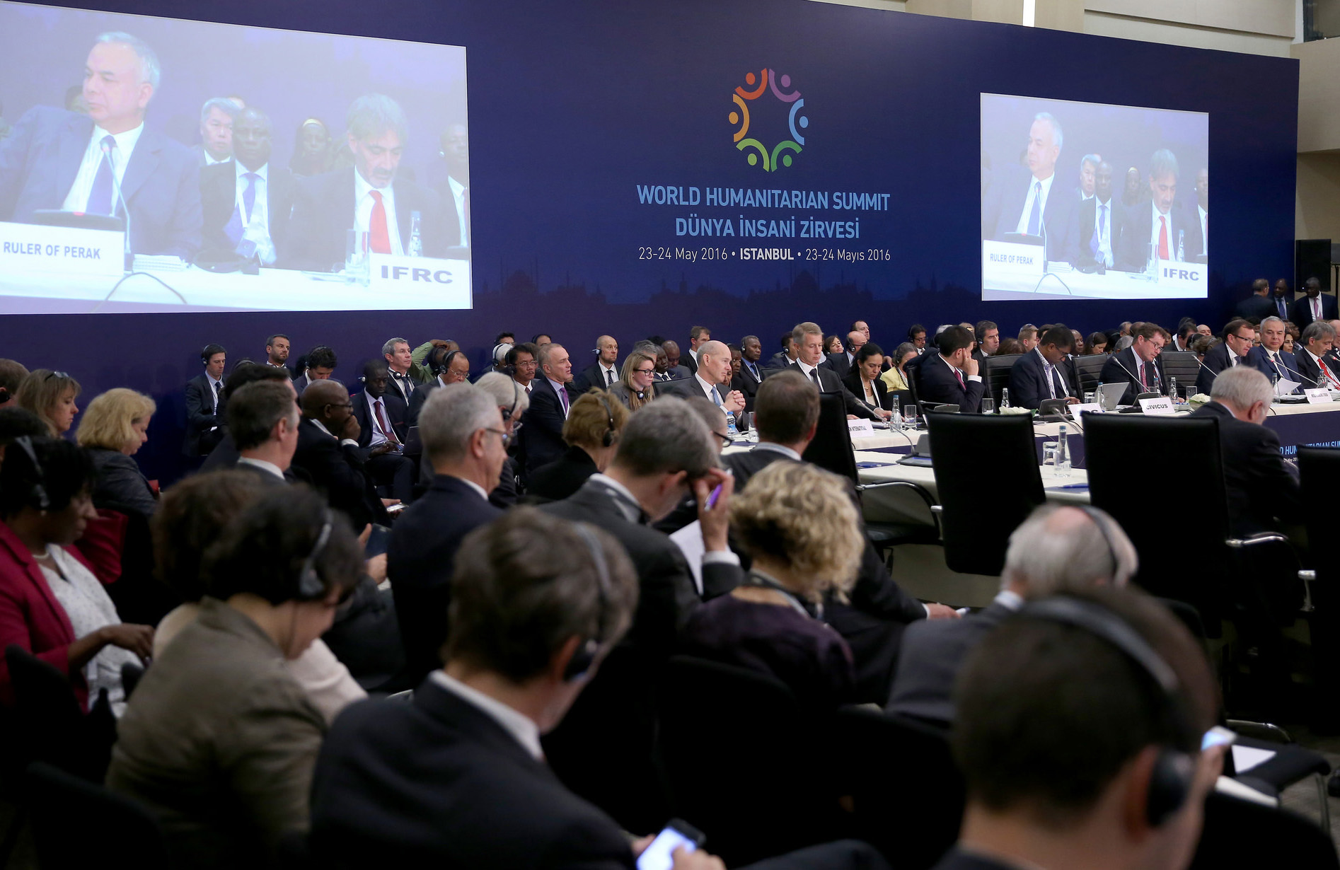 Global leaders gathered during the World Humanitarian Summit
