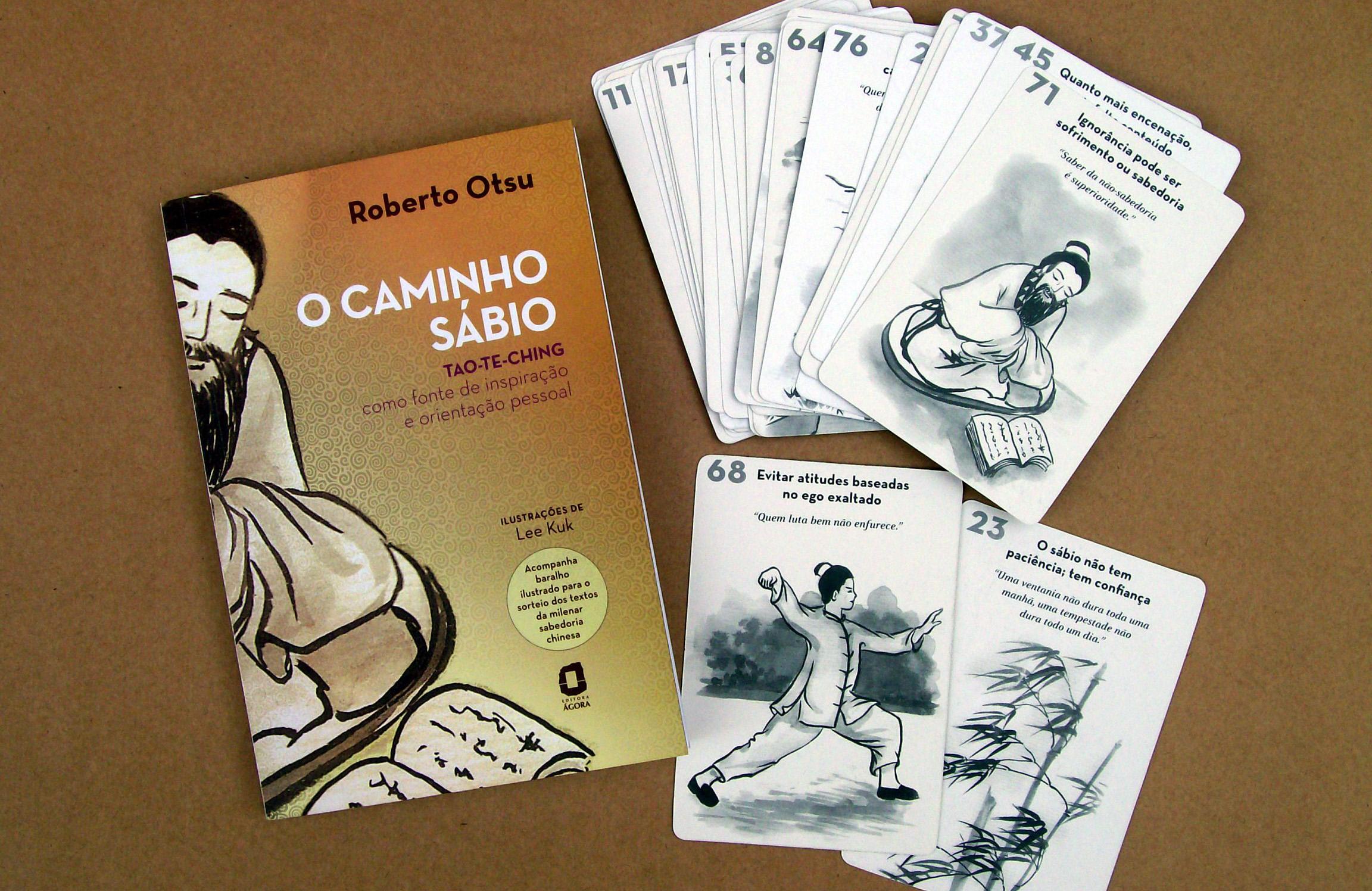 O Caminho Sábio, um dos livros de Roberto Otsu