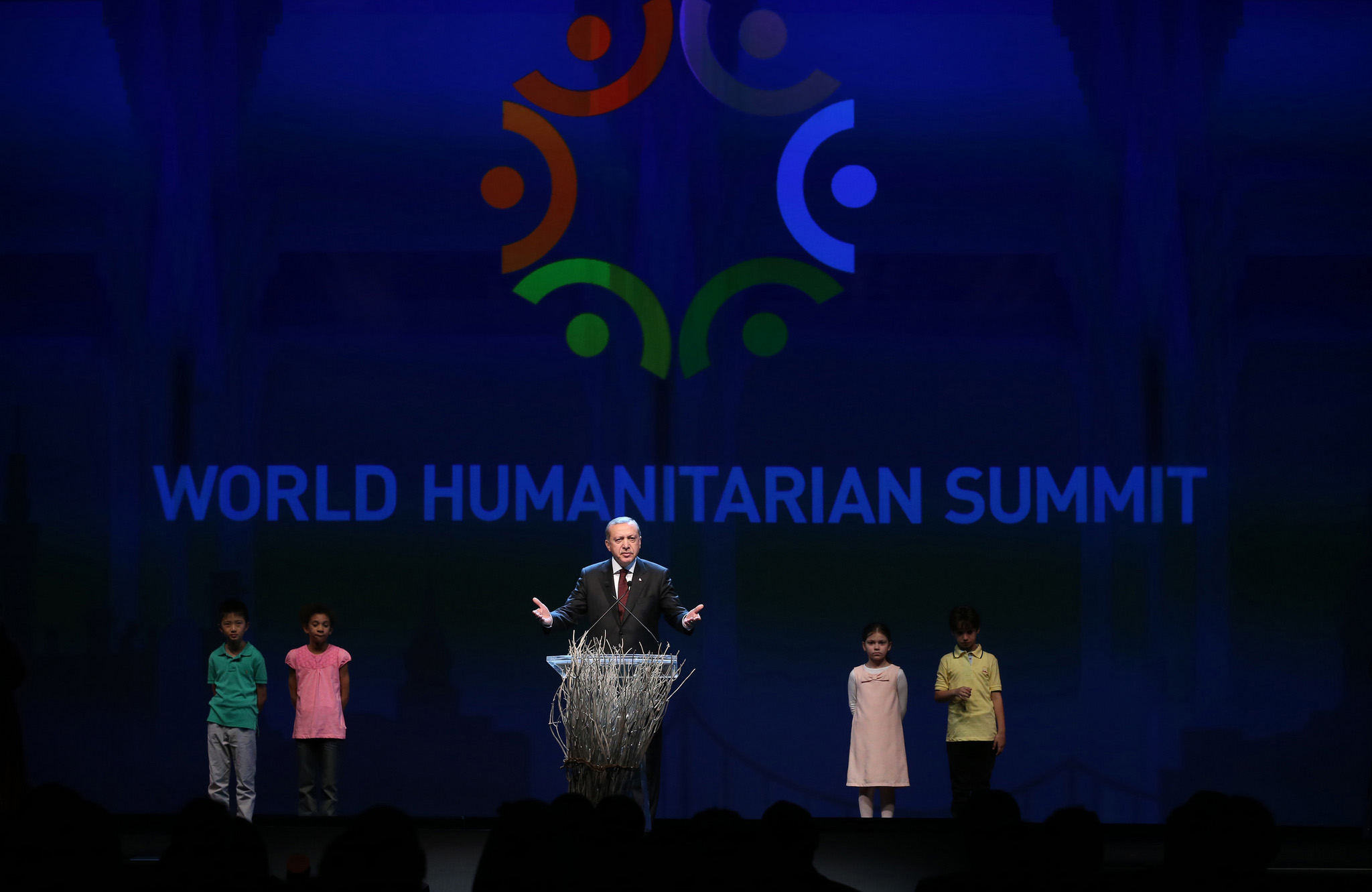 World Humanitarian Summit opening ceremony