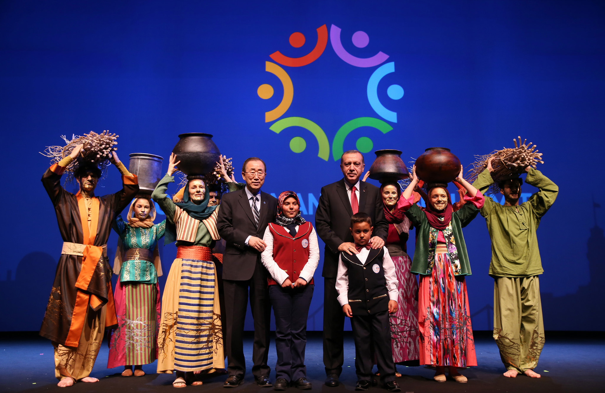 Closing ceremony with Ban Ki Moon