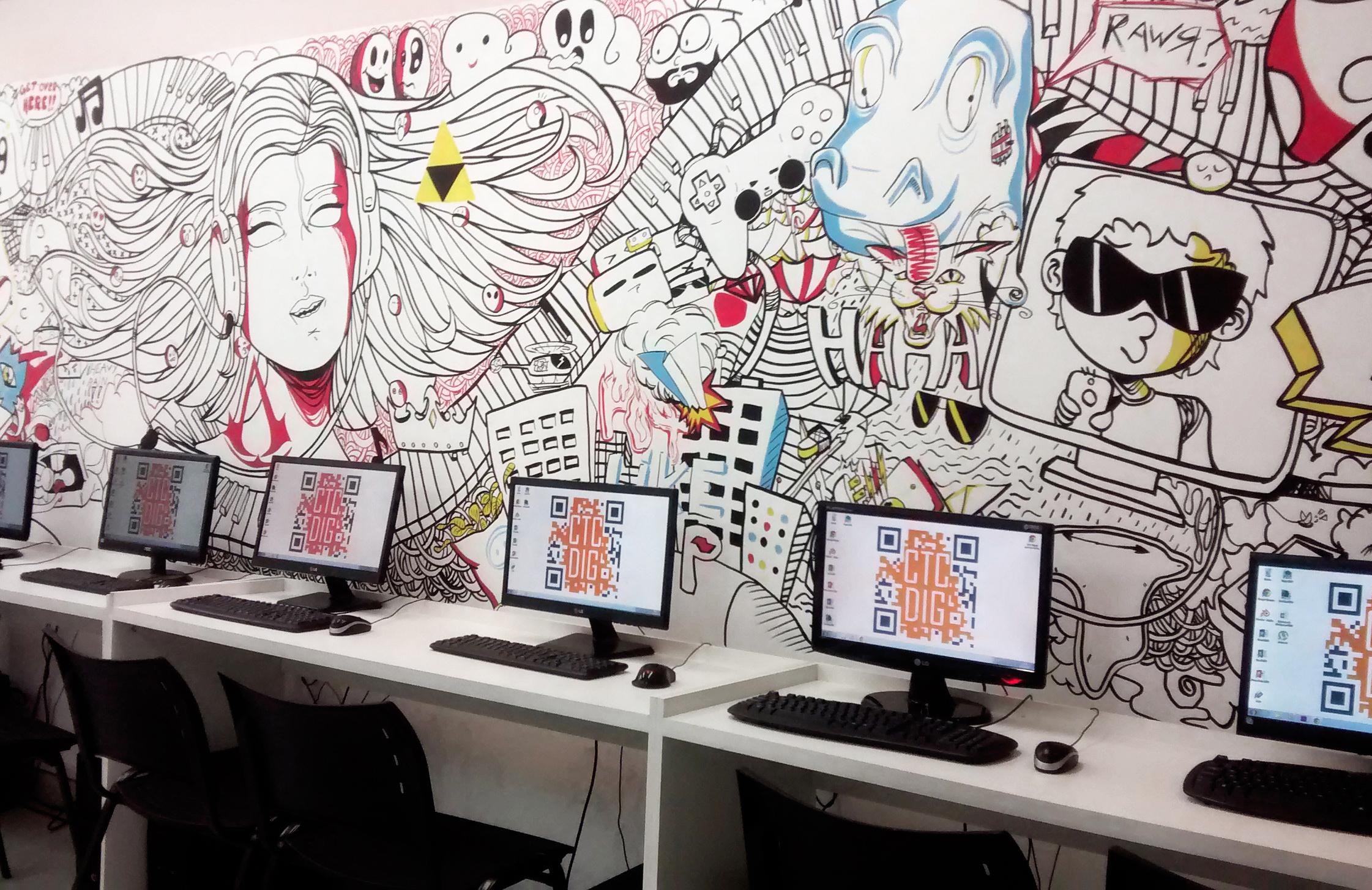 Laboratório do CTC Digital