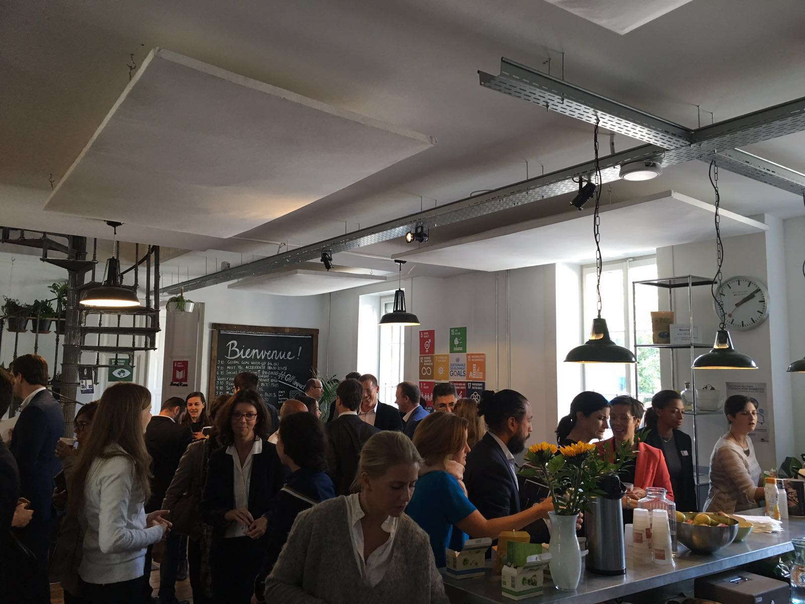 The Social Good Summit took place at Impact Hub office, in Geneva