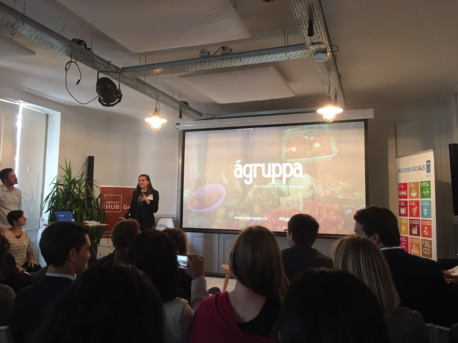 Agruppa was one of the Accelerate 2030 finalists