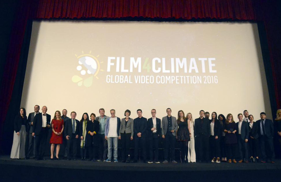 Film4Climate jury and winners