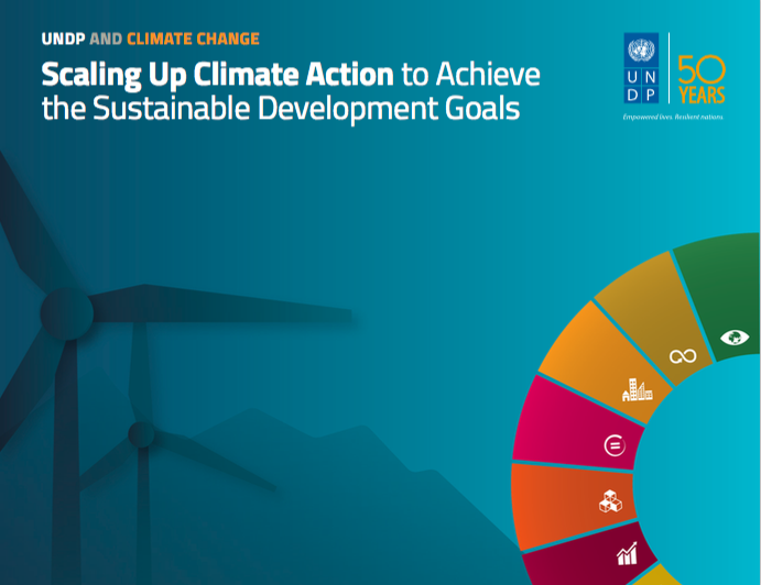 "Flagship report ""UNDP and Climate Change: Scaling up Climate Action to Achieve the SDGs"""