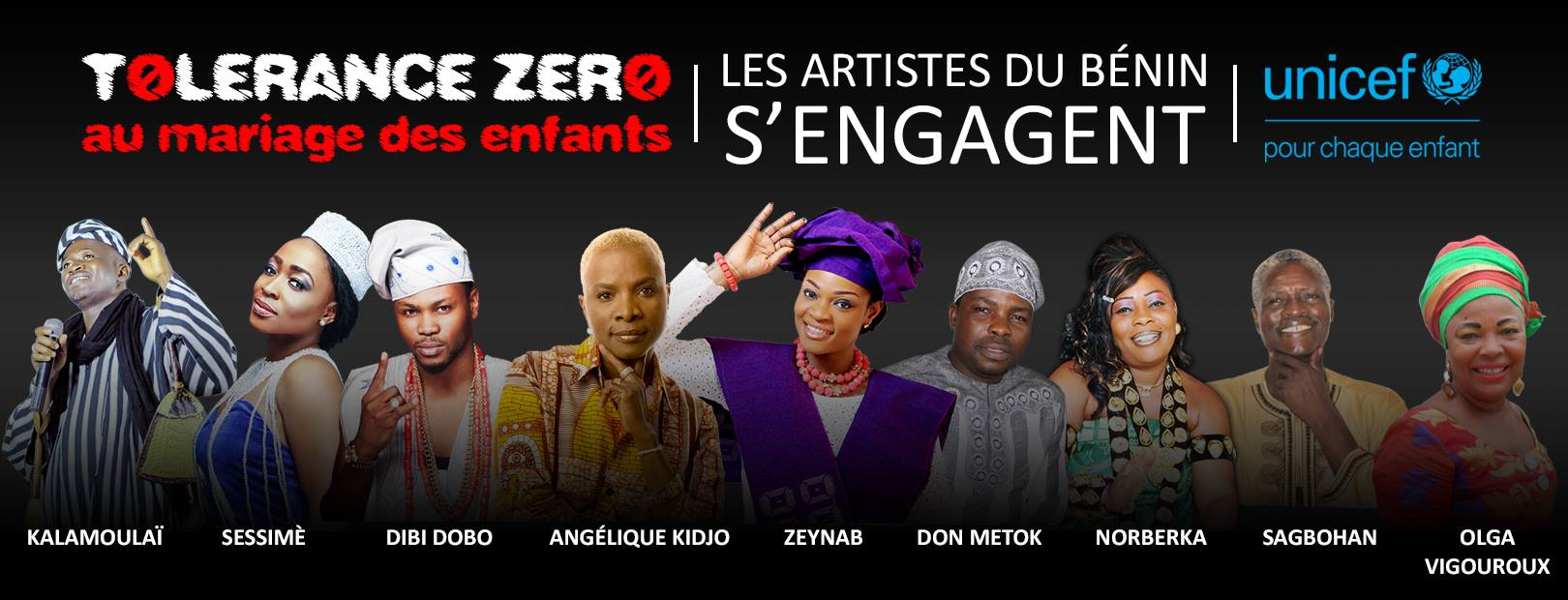 Artists from Benin are engaged in the cause