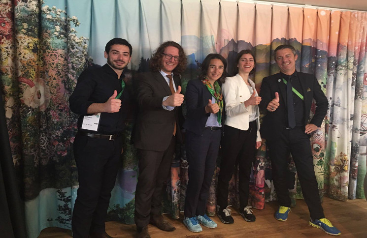 Horyou team visits the Swiss Pavillion at EXPO2017 in Kazakhstan