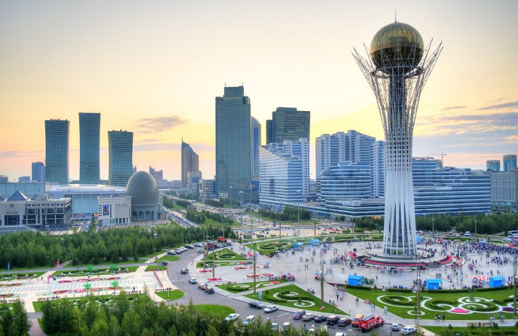 Astana is one of the fastest-growing capitals in the world