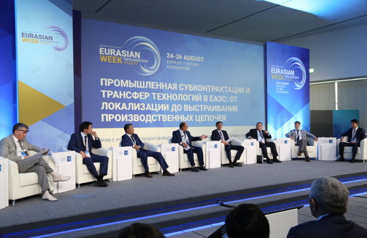 Opening ceremony  of Eurasian Week