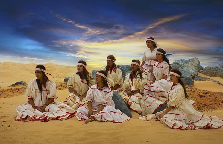 Indigenous Raramuris from Mexico