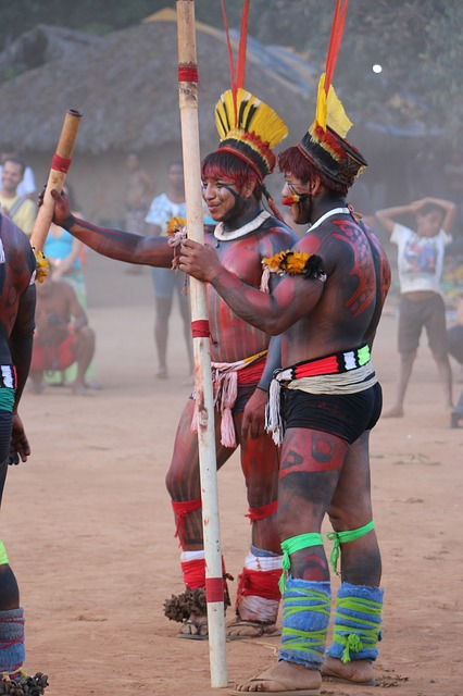 Indigenous people from Brazil