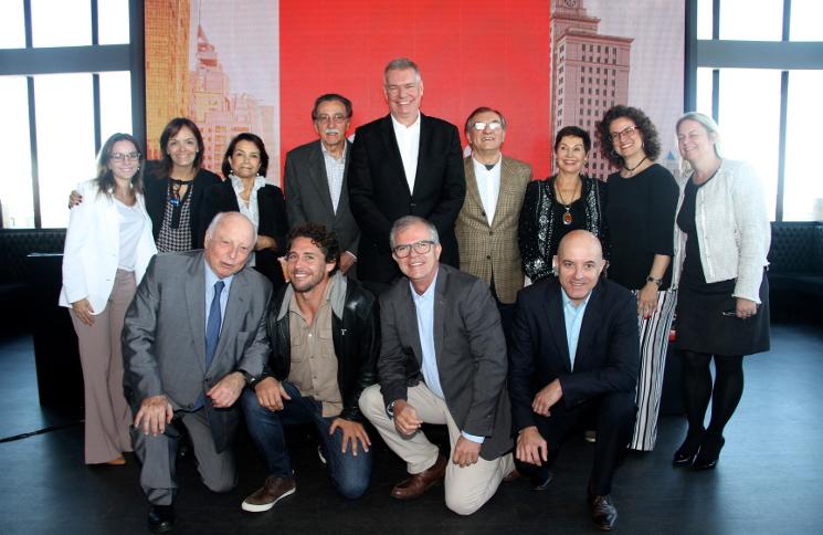 Evento de lançamento do Milhas do Bem, com todas as instituições parceiras. Foto Denise Andrade
