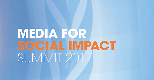 The Media for Social Impact Summit took place in New York